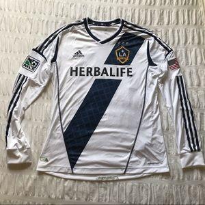 Adidas MLS LA Galaxy Authentic Custom Jersey